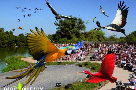 Parc des oiseaux à Quincié-en-Beaujolai