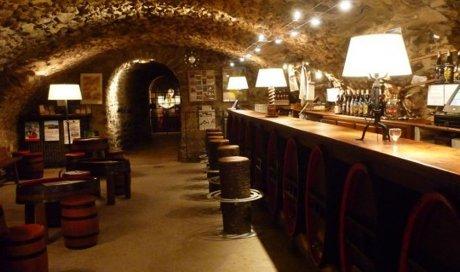 Le comptoir Beaujolais à Quincié-en-Beaujolai